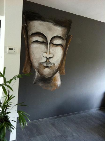 boedah muurschildering