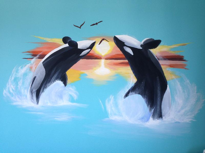 orka muurschildering