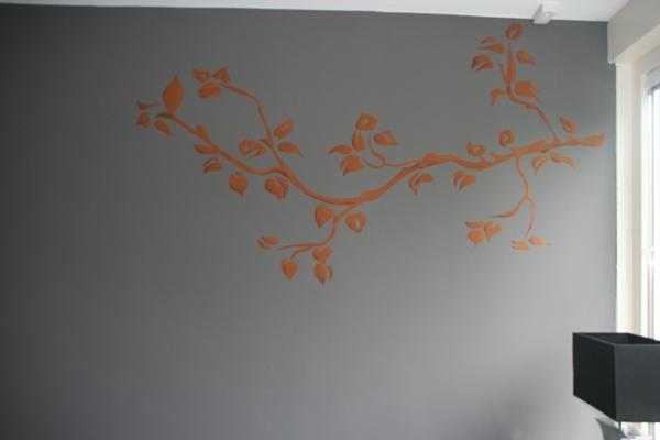 takken muurschildering