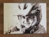 Portret schilderij BMX