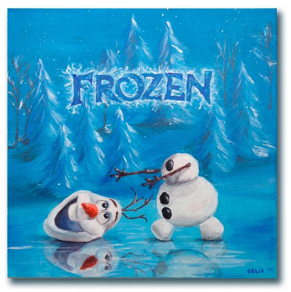 frozen_schilderij